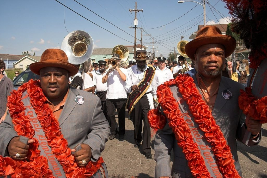 Jazz Funeral for Michael P. Smith