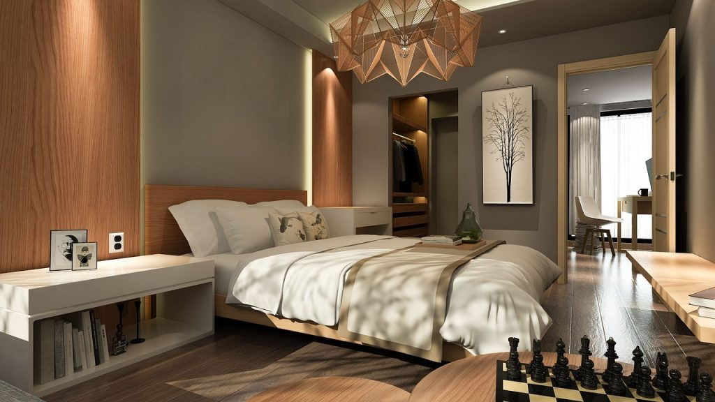 Choose calming colors for your bedroom walls